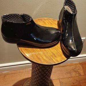 Alegria climatease black rain boot size 10